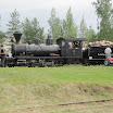 LWR6 kuljetti halukkaita veturiajelulle Minkiöltä Raemäkeen ja takaisin.