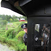 LWR6 kuljetti halukkaita veturiajelulle Minkiöltä Raemäkeen ja takaisin. Anne Teirisalo toimi lämmittäjänä.