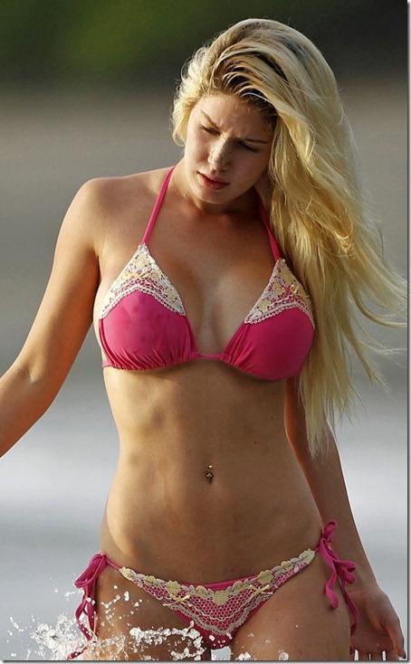 Heidi montag lingerie shoot