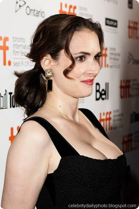 Winona Ryder at the Toronto Film Festival