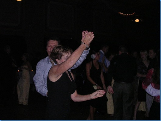 dancing at Carly's wedding