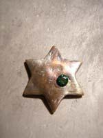 13 colgante estrella con piedra envejecida   Adornar las Joyas de Bisutería