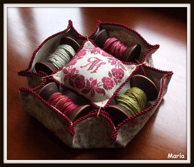 Porta bobinas rosas-5