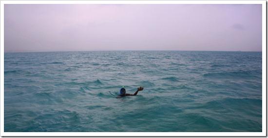 Ловля морских ежей