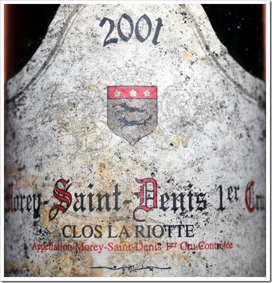 """Morey-Saint-Denis 1er Cru """"La Riotte"""""""