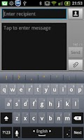 Screenshot of Hebrew for Perfect keyboard