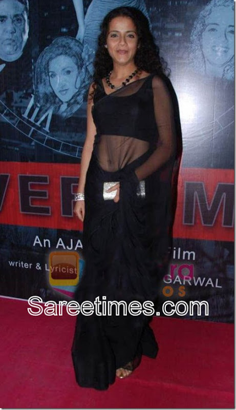 Gauri_Karnik_Black_Saree