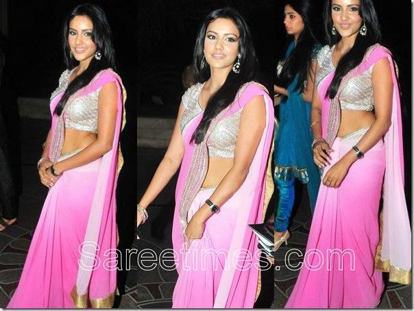 Priya_Anand_Pink_Saree