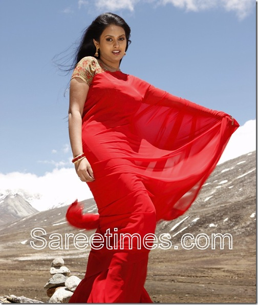Kalyani_Red_Saree