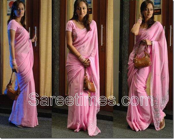 Kaveri_Jha_Pink_Saree
