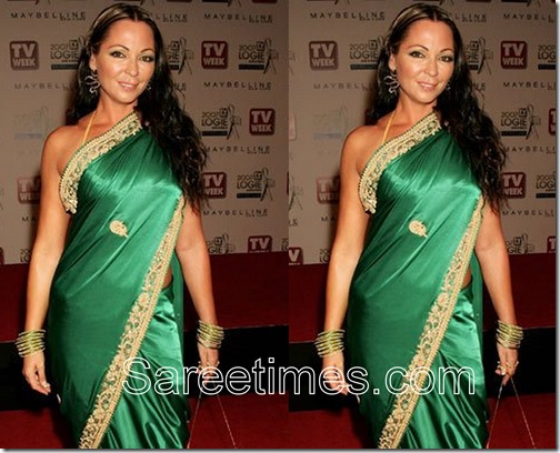 Tania_Zaetta_Green_Saree