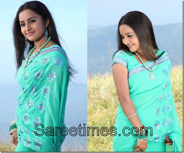 Bhama_Green_Saree