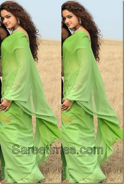 Asmita_Sood_Green_Saree