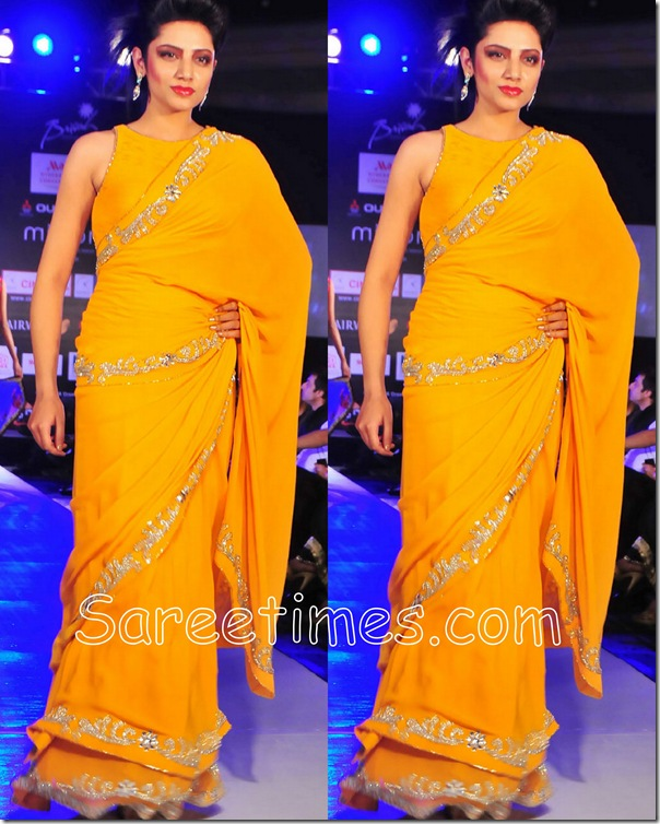 Mustard_Embroidery_Saree