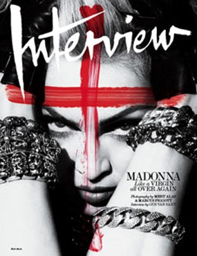 2010 - Madonna by Alas & Piggott for Interview - Cover
