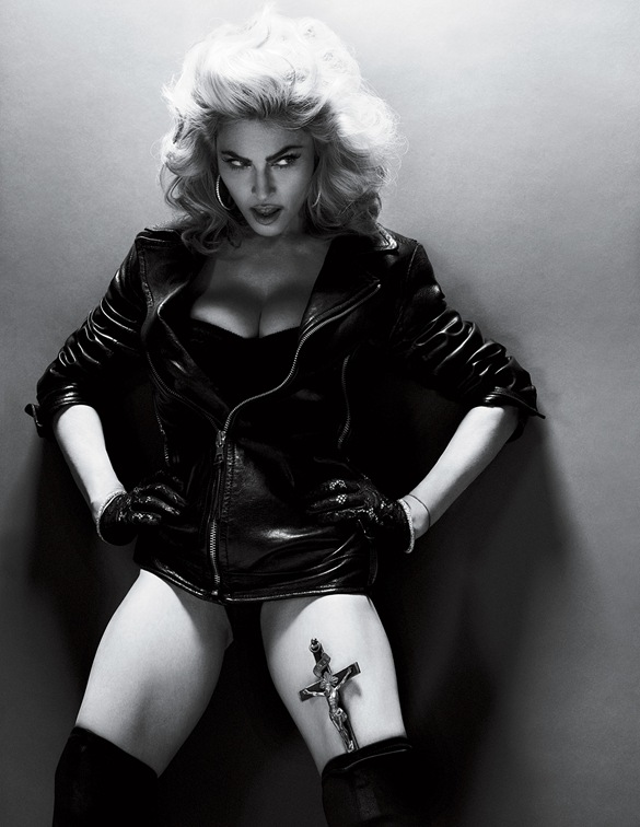 2010 - Madonna by Alas & Piggott for Interview - 01