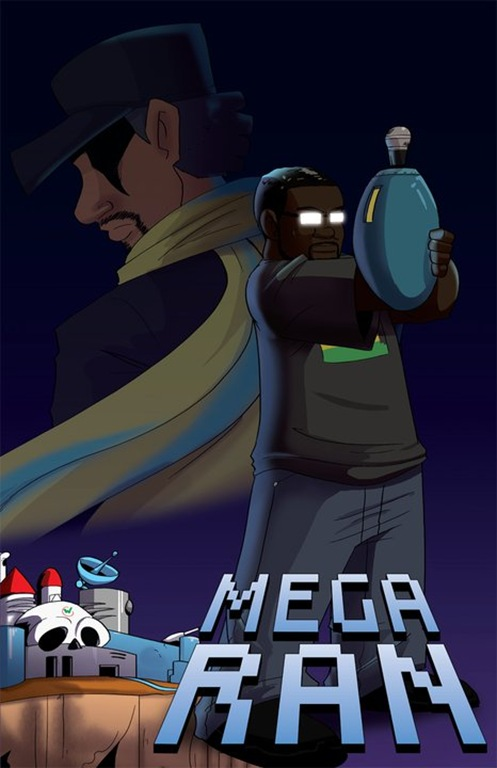 megaran comic art