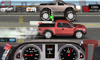 Screenshot of Drag Racing 4x4