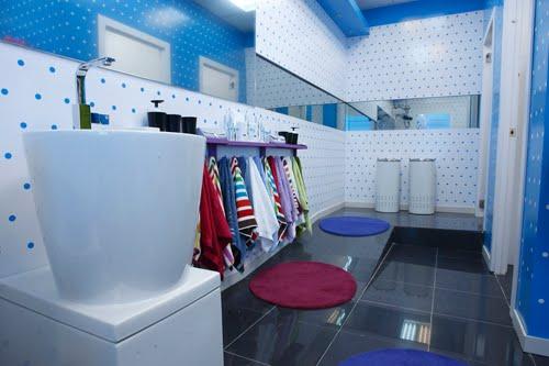 lavabos en los cuartos de baño de gran hermano 11