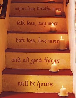 decoracion de escaleras
