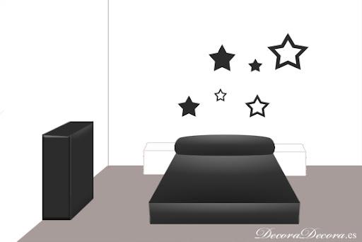 pintar el cabecero de la cama