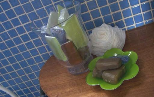 jabones para decorar y aromatizar el baño