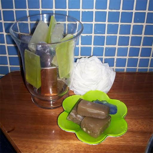 jabones decorativos para el baño