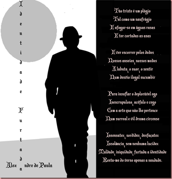 identidade furtada - alexandre de paula