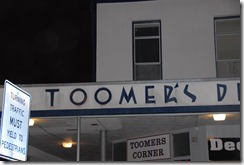 toomer's sign