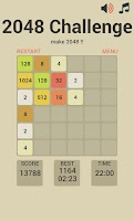 Screenshot of 2048 Challenge
