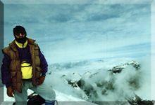 Monte Perdido mendiaren gailurra 3.355 m. - 1.992ko uztailaren 3an