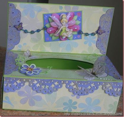 boîte à mouchoirs Fée Clochette