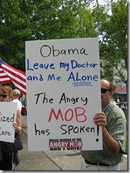 Protest Obama Care 111