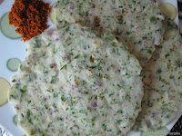 Akki Rotti Or Rice flour Roti