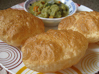 Poori/Puri and Saagu