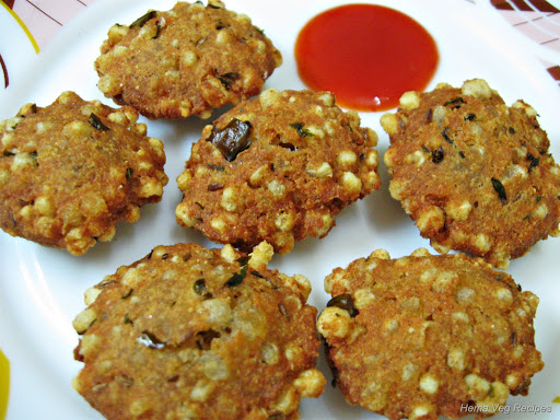 Sabudana Vada or Sago Patties
