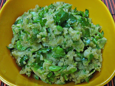 Green Peas Potato Paratha Filling