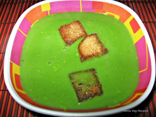 Palak/Spinach Soup