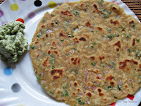 Paneer Paratha/Parantha