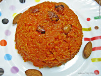 Carrot Halwa or Gajar Halwa