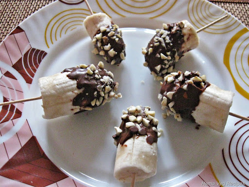 Chocolate Banana Stick