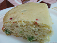 Eggless Vanilla Cake