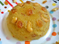 Kesari Bath or Rava Kesari