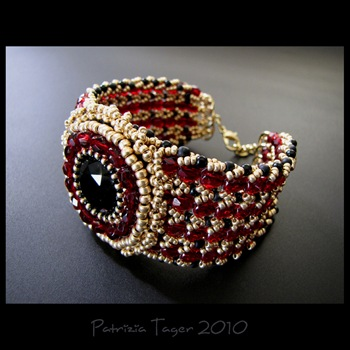 red poppy bracelet 04 copy