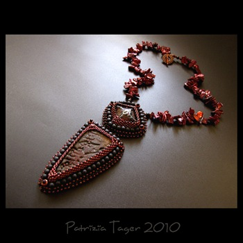 volcano goddess - OOAK Necklace 02 copy