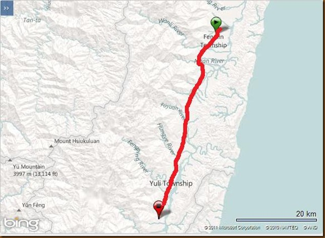 Day 15 Garmin Map