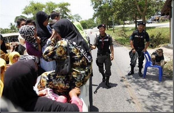 Policial macaco na Thailandia (6)