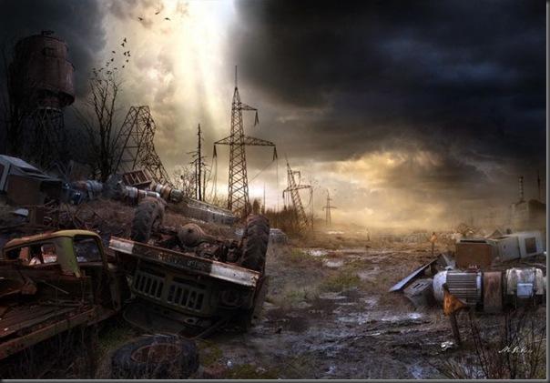 Fotos pós-apocalíptico