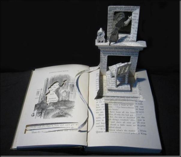 Esculturas com livros (17)