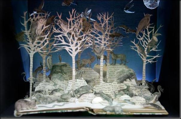 Esculturas com livros (18)